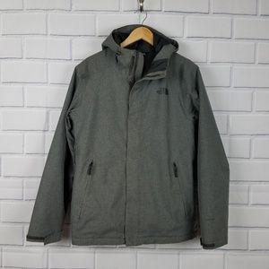 THE NORTH FACE Inlux Insulated Jacket in Gray
